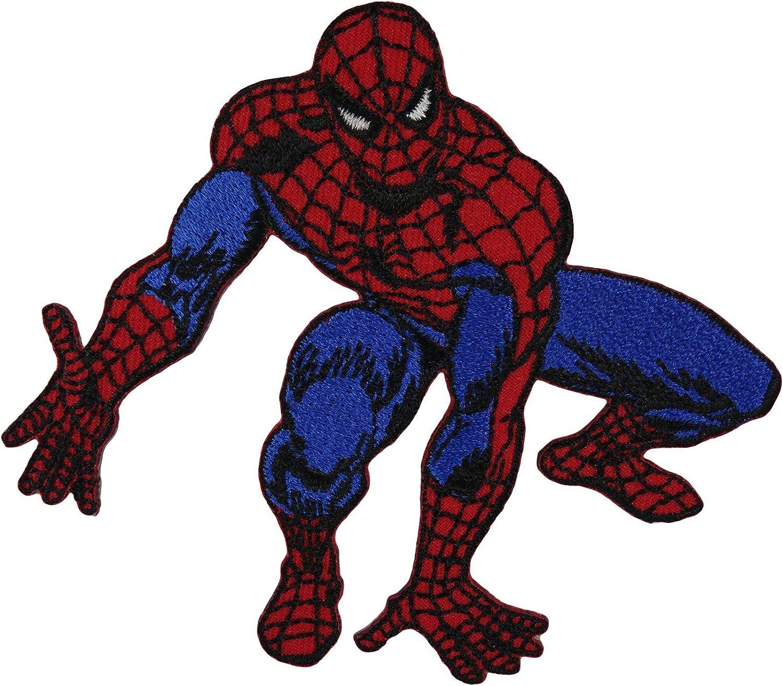 Spiderman patch Iron Sew on T shirt bag Fancy Dress Superhero distintivo ricamato
