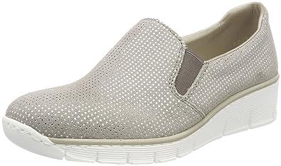 Rieker Damen 53766 Slipper: : Schuhe & Handtaschen