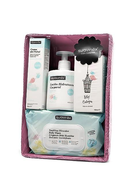 Canasta Para Bebe Recien Nacido.Suavinex Canastilla Cosmetica Para Bebe Recien Nacido Canastilla De Regalo Para Bebe Color Rosa