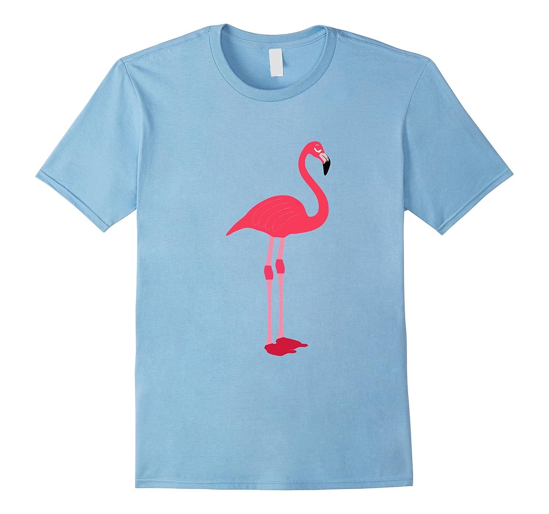 Hot Pink Flamingo Tee Shirt-TD
