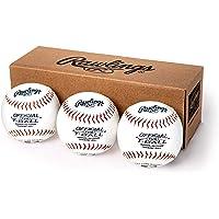 Rawlings - Pelotas de béisbol para jóvenes (Caja de 3 o 12)