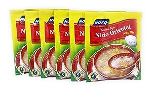 Nora Kitchen - Chinese Style Nido Oriental Soup Mix, 2.18oz (62g) 6 Pack