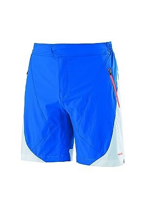 Head Calvin - Pantalones cortos de tenis para hombre, color azul/blanco, talla XL: Amazon.es: Deportes y aire libre