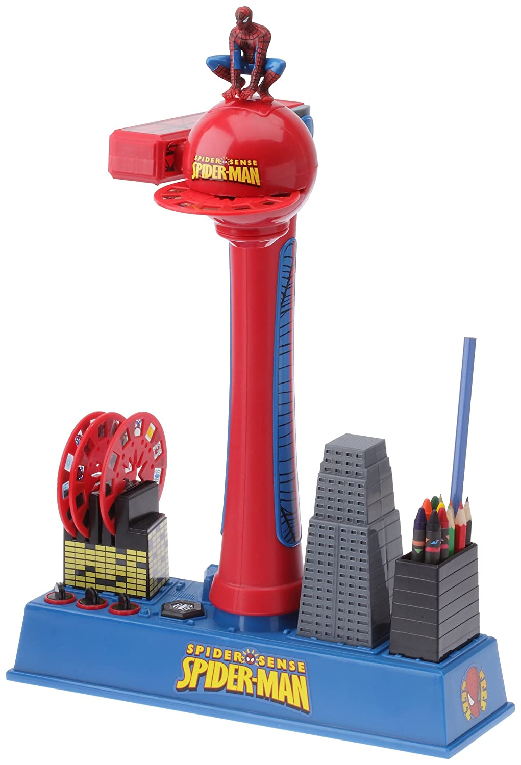 IMC Toys 704089 - Spiderman Proyector De Dibujos: Amazon.es ...