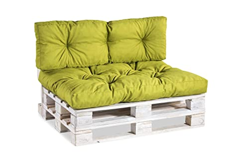 Cuscini per divani in pallet, imbottitura per pallet, lounge set ...
