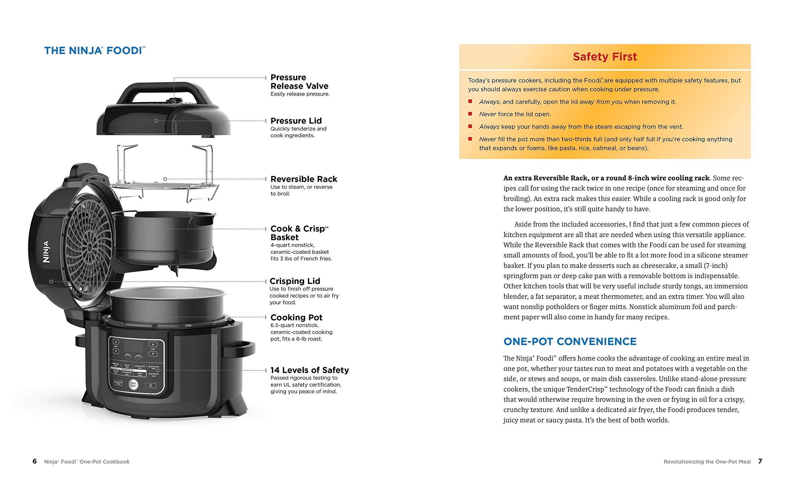 Ninja Foodi - the Pressure Cooker That Crisps - One-Pot ...