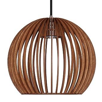 Gut Pendelleuchte Aus Holz   Moderne Designer Deckenleuchte   Viele Farben  Erhältlich Cognac
