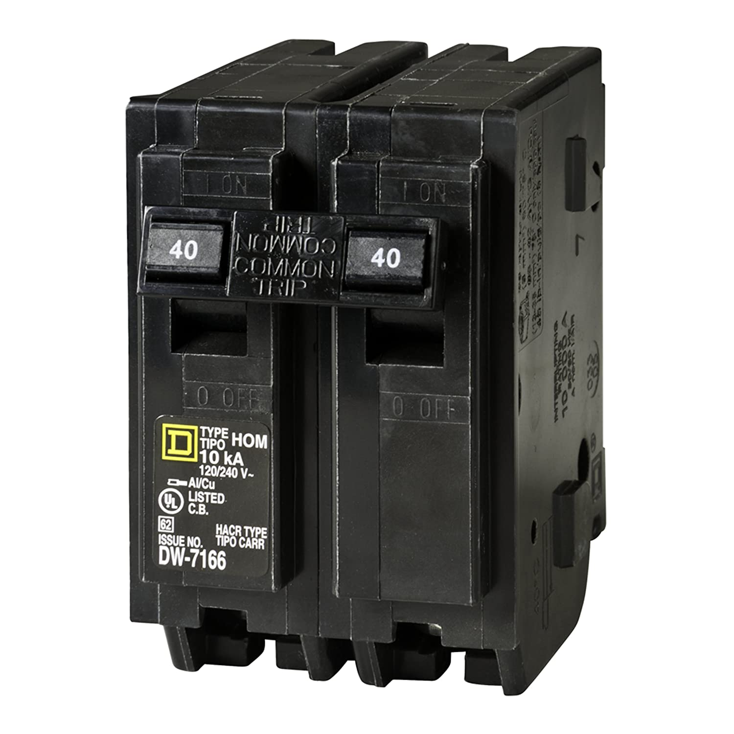 Square D by Schneider Electric HOM240CP Homeline 40 Amp Two-Pole ...