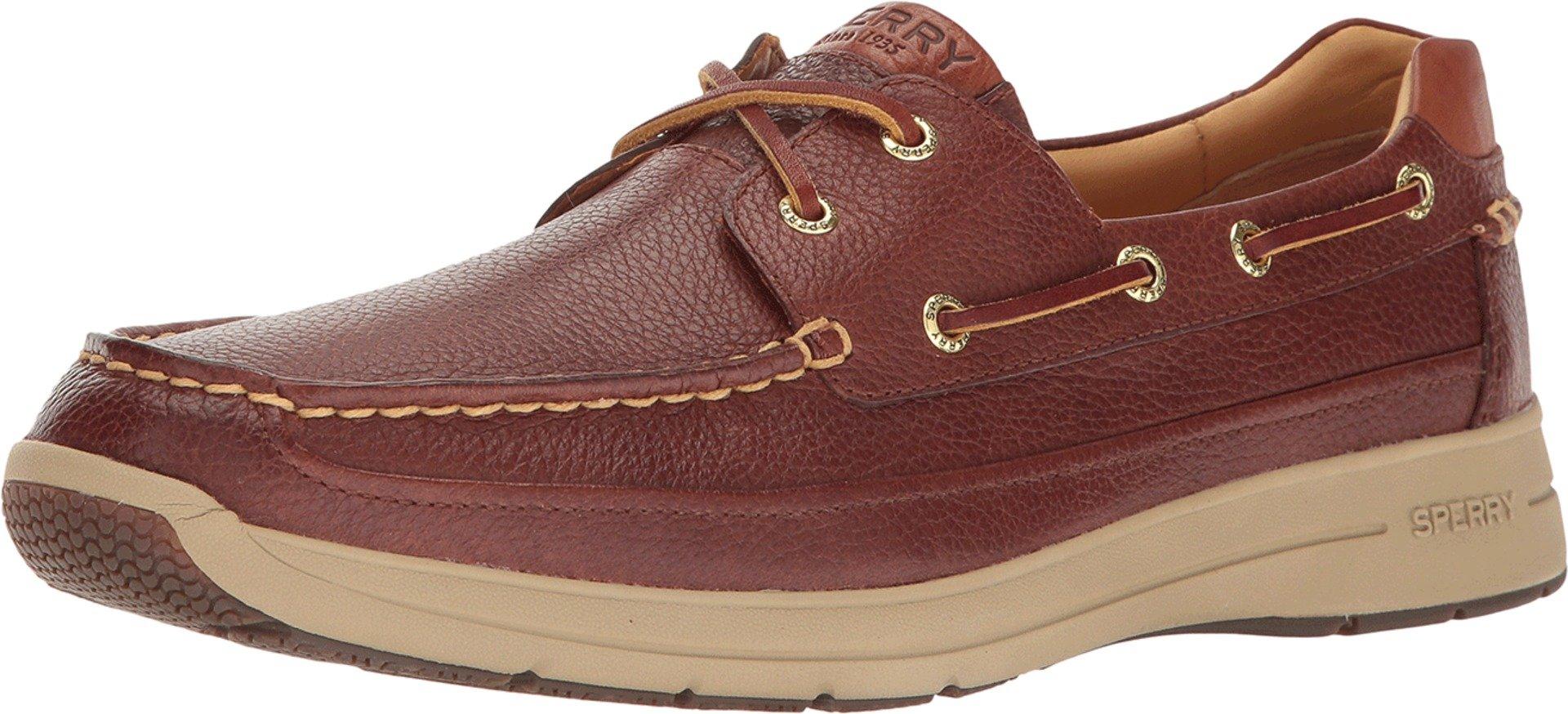 Sperry Men's Gold Cup Ultra Boat Shoe (8.5 D(M) US, Cognac)