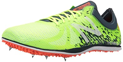New Balance Mens WLD5KYP4 Track Shoes Yellow/Green 7.5 ...