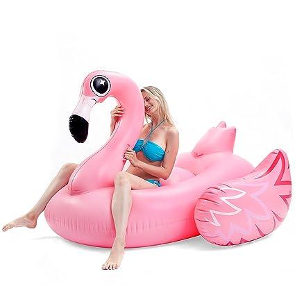Amazon.com: JOYIN juguete inflable gigante lujoso Flamingo ...