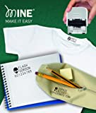 Tampon marqueur idéal pour personnaliser vêtements et livres Mine Compact