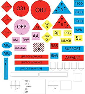 Amazon.com: Militar symbols- adrp 1 – 02 Flashcards: 100 de ...