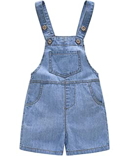 Winsummer Toddler Infant Boys Girls Linen Sleeveless Braces Strap Romper Jumpsuit Pant Coveralls Summer Clothes