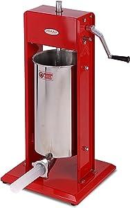 Hakka Sausage Stuffer Stainless Steel Vertical Sausage Maker (7LB/3L(CV-3))