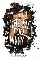 One Lie Too Many Kindle Edition