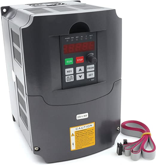 UPDATED 220V 4KW 5HP VARIABLE FREQUENCY DRIVE INVERTER VFD NEW