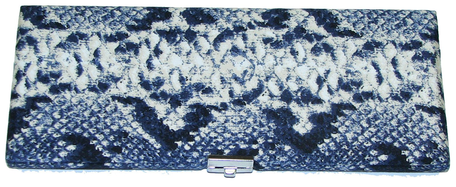 25-Reed Oboe Reed Case Fabric (Snake Fabric)