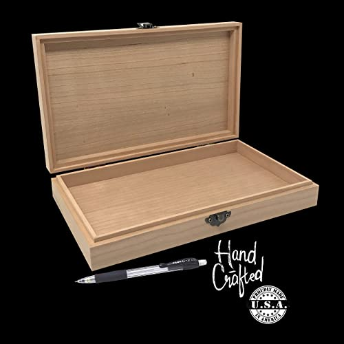 Hand Made 2 in 1 Wooden Jewellery Box Chest Case