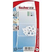 fischer Fast & Fix wit - wandhaken voor het bevestigen van schilderijen, kleine onderdelen in gipskarton, zacht hout…