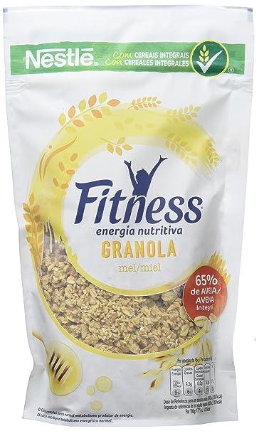 Fitness Cereales Granola Avena, Trigo Malteado y Miel - 300 gr