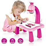 * Sale - 70% off Limited Time Offer * Hakea Kids Drawing Toy Painting Projector Toy - Kids Learning Smart Projector - Fun Art Tracer - Exciting Design - Draw Like a Pro - Educational Objective - Brain Developing Toy - Kids Education - Coloring and Painting - Pink