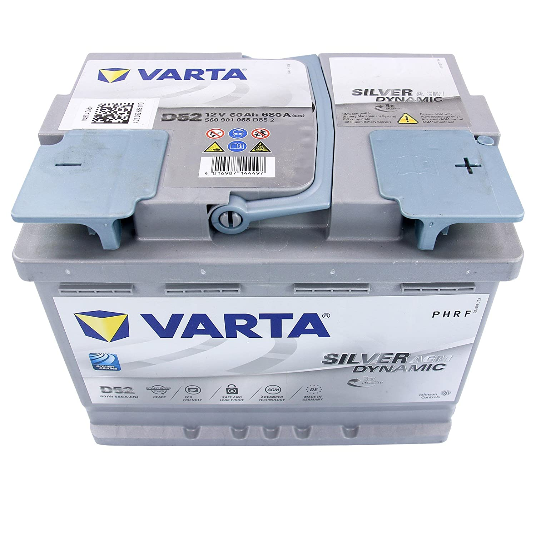 VARTA Silver Dynamic AGM D52 60Ah 12V 680A//EN