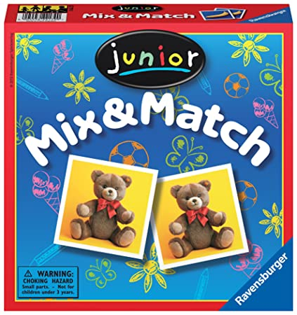 Ravensburger Junior Mix and Match Childrens Game
