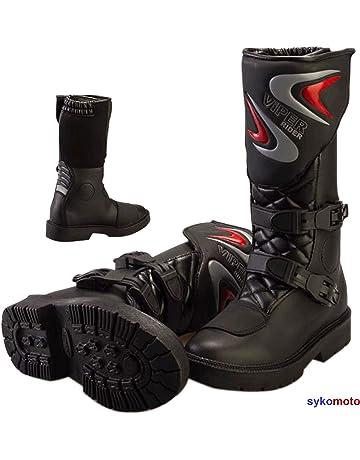86960e906d Viper K156 Garçons ET Filles Cuir Motocross Enduro Quad ATV Sports Ratchets  Enfants Bottes Noir (