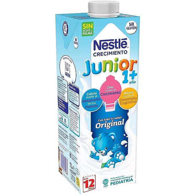 Nestlé - Junior Crecimiento Original A Partir De 1 Año (1 L): Amazon.es: Alimentación y bebidas