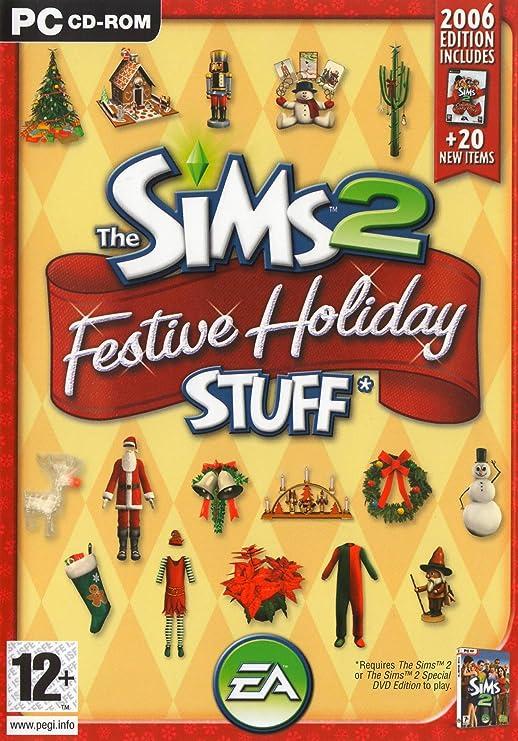 The Sims 2: Festive Holiday Stuff Expansion Pack (PC CD) [Importación inglesa]: Amazon.es: Videojuegos