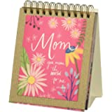Brownlow Gifts Mom Simple Inspirations Easelbook, 4 x 4.25-Inches