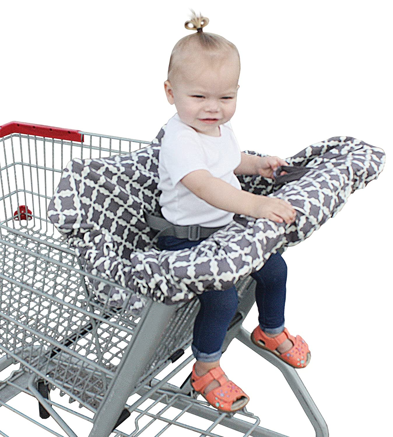 Jolly Jumper Deluxe Sani-Shopper Shopping Cart Cover with Safety Belt