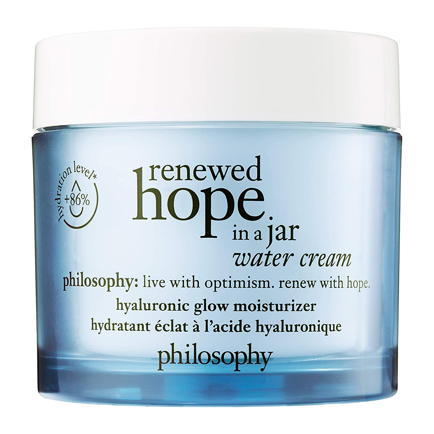 Amazon.com: philosophy renewed hope in a jar - water cream, 2 oz: Premium Beauty