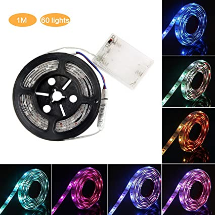 Amazon Com Led Strip Light Bike Wheel Light 3 3 6 6ft Ip65