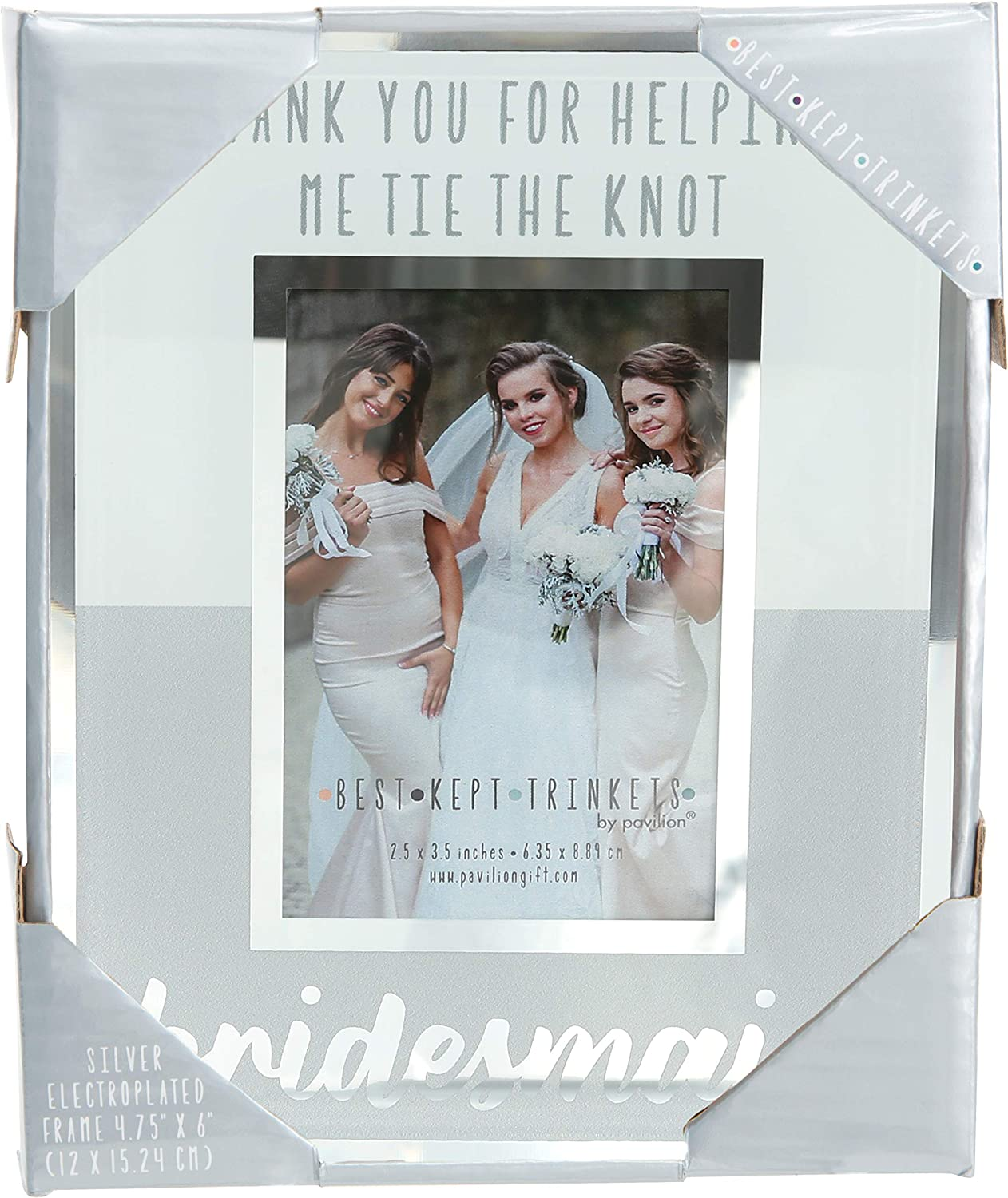 Stand up and Magnetic Bride Tribe Bridesmaid Gift Thank you  Custom Personalized Picture Photo Frame