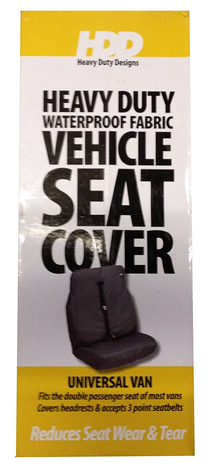 HDD Heavy Duty Designs Universal Van Double Car Seat Cover Blue