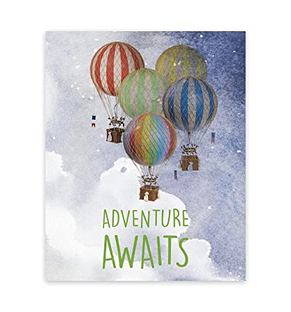 Adventure Awaits Print, Wall Decor 11x14, Kidu0027s Wall Art Print, Kidu0027s Room  Decor