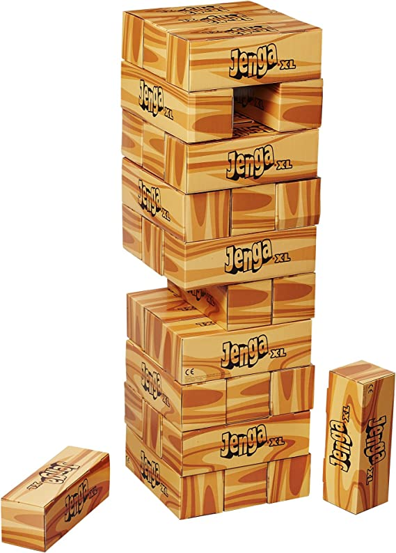 Jenga XL Game by Hasbro: Amazon.es: Juguetes y juegos