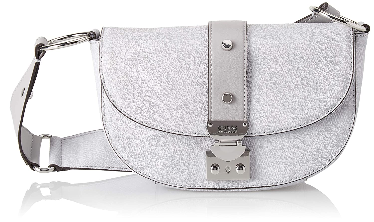 Guess florence amazon shoes grigio a tracolla