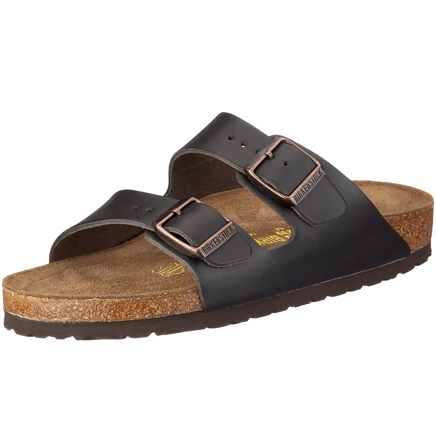 Birkenstock Arizona, Zapatos con Hebilla Unisex Adulto 43 EU (Normal)|Marrón (Brown 551)