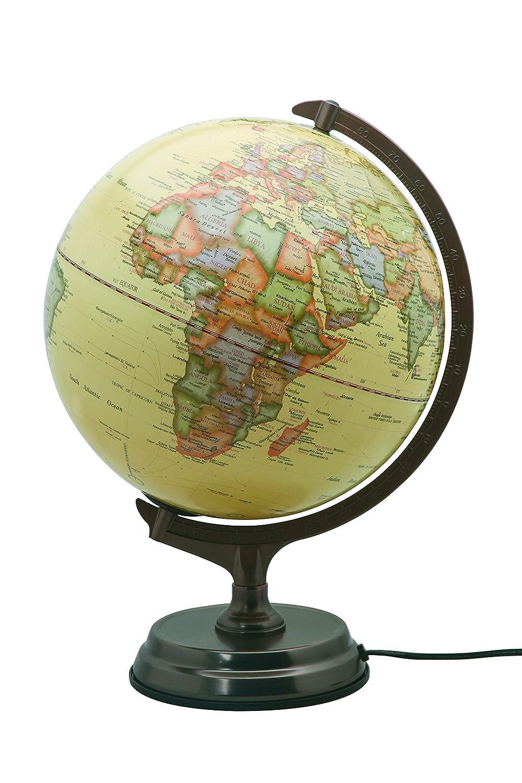 Sign 22403 Globe Antik beleuchtet 30 cm beige