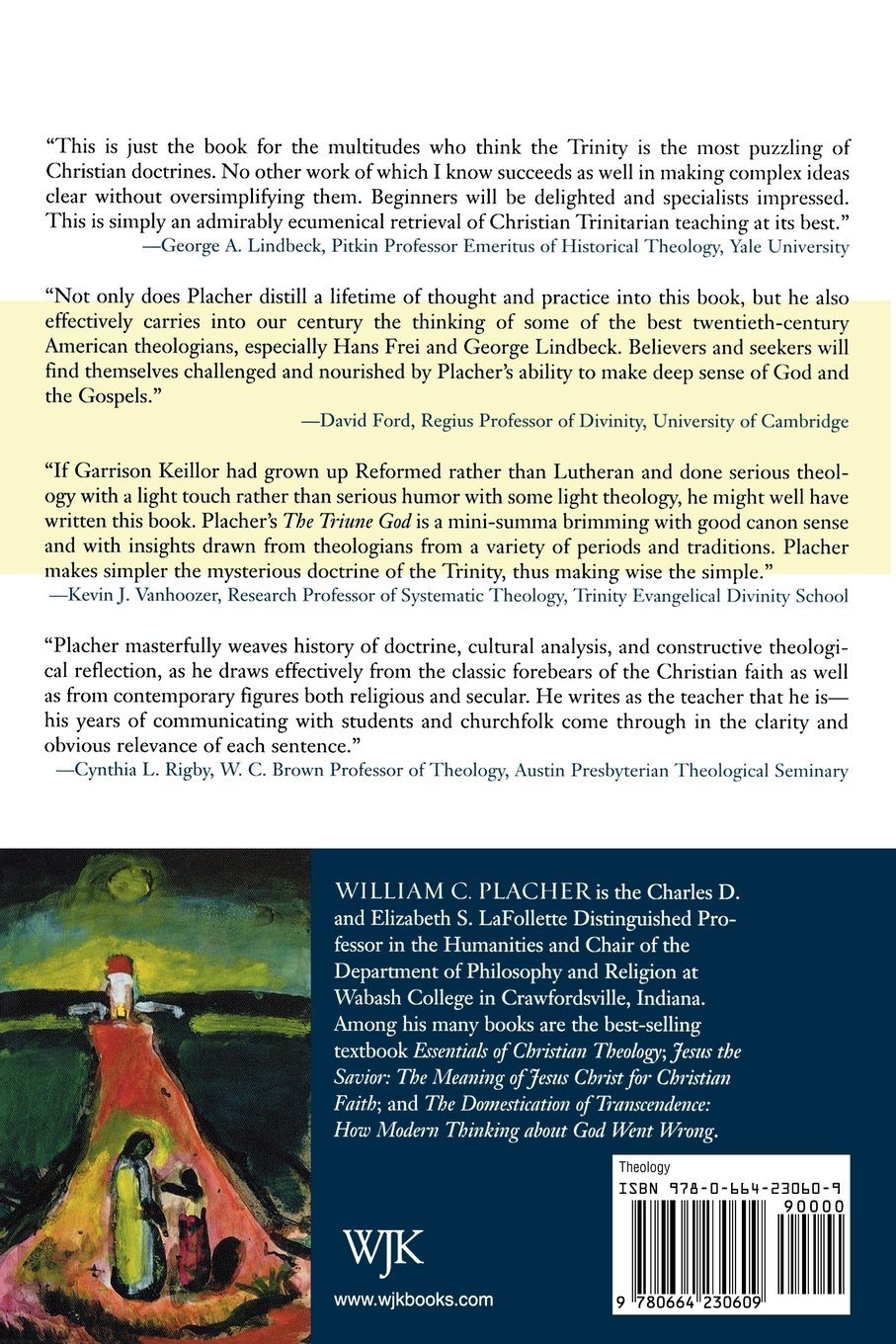 the triune god an essay in postliberal theology william c the triune god an essay in postliberal theology william c placher 9780664230609 com books