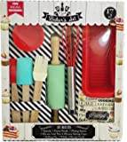 Handstand Kids 17-Piece Junior Baking Set with Recipes for Kids