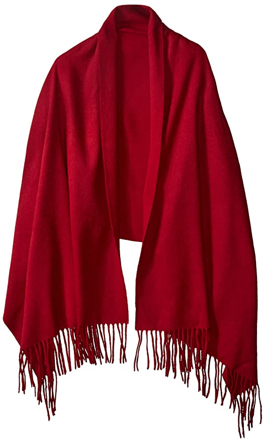 Vintage Scarves- New in the 1920s to 1960s Styles High Style 100% Lambswool Women Oversized Large Scarf Shawl (Various Colors and Designs) $39.99 AT vintagedancer.com