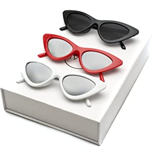 0698ac5c877 Amazon.com  SOJOS Clout Goggles Cat Eye Sunglasses Vintage Mod Style ...