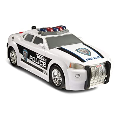 Tonka Mighty Motorized Police Cruiser Toy Vehicle: Toys & Games