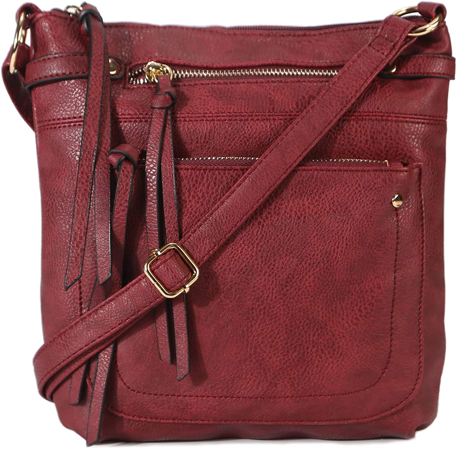 STUOYE PU Leather Crossbody...