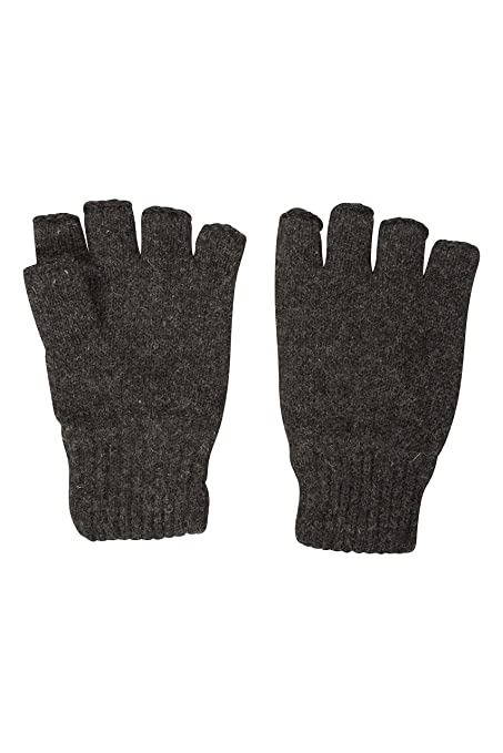 Amazon.com : Mountain Warehouse Thinsulate Fingerless Knitted Mens ...