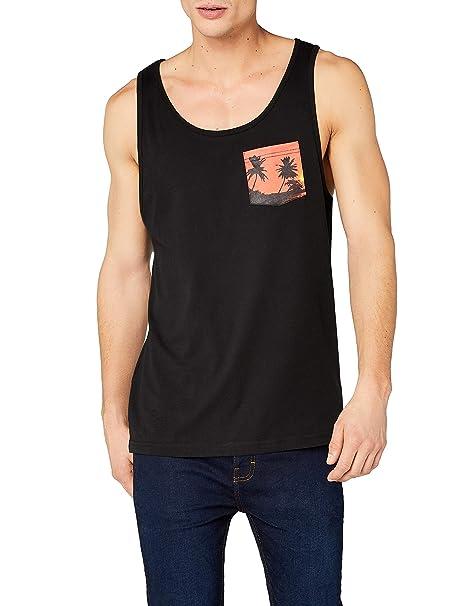 a4afbc07a Urban Classics Contrast Pocket Jersey Big Tank Camiseta sin Mangas para  Hombre